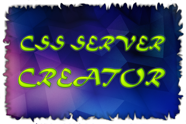 CSS Server Creator V1.0 bY RusTam